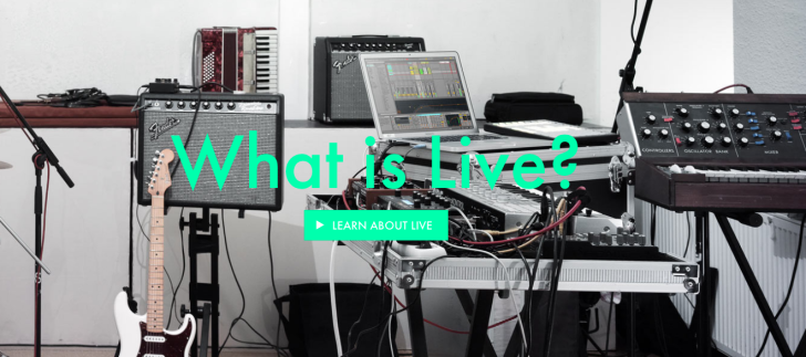 Ableton live in education