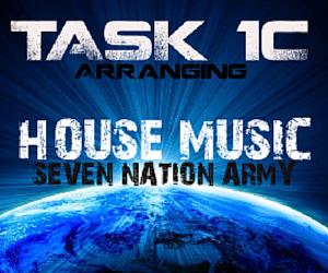 Task 1c house music course a level music tech for House music arrangement
