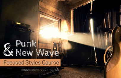 Music Tech Punk-and-New-Wave-Course
