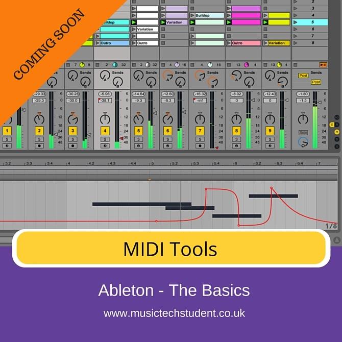 Ableton MIDI tools course