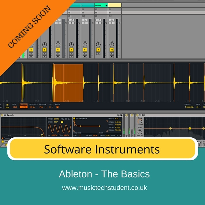 Ableton Software Instruments course