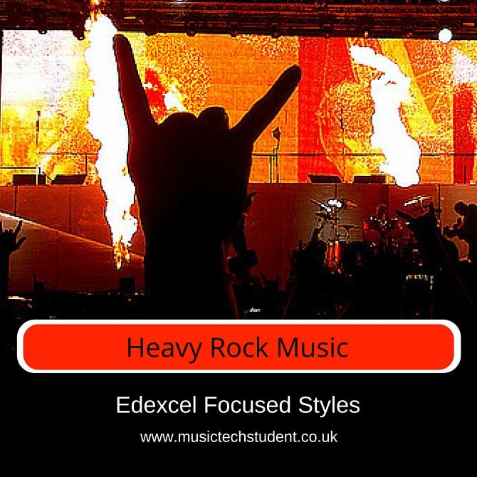 Heavy Rock Focused Styles course