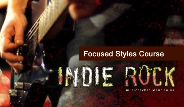 The history and development of indie rock music