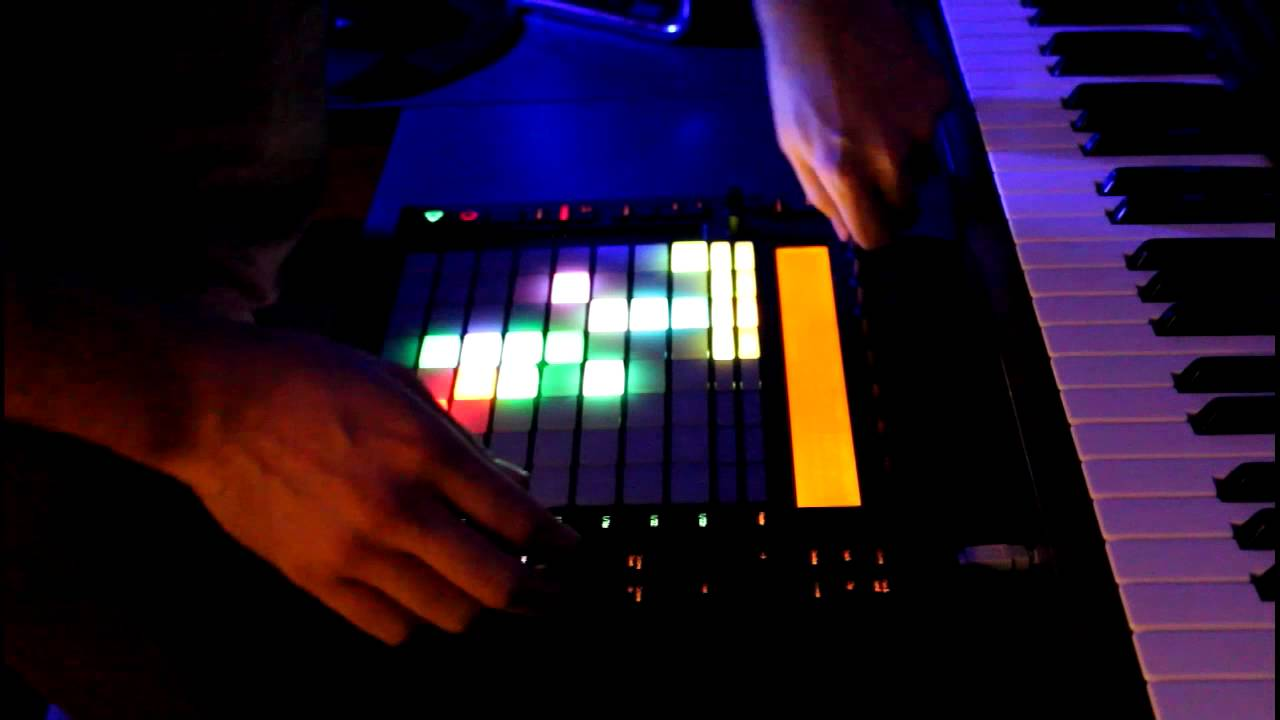 Ableton Push in Action