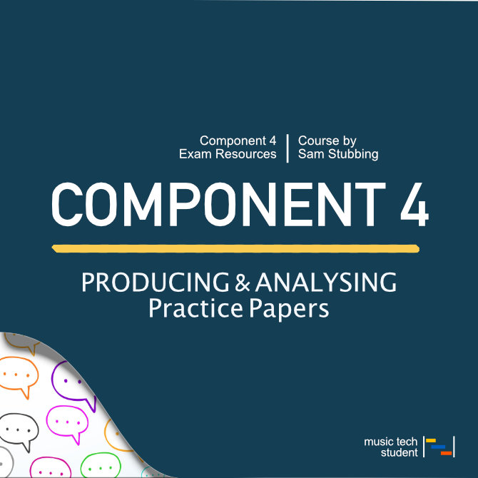 Component 4 producing and analysing practice papers