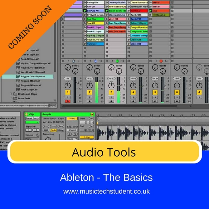 Ableton Audio Tools course