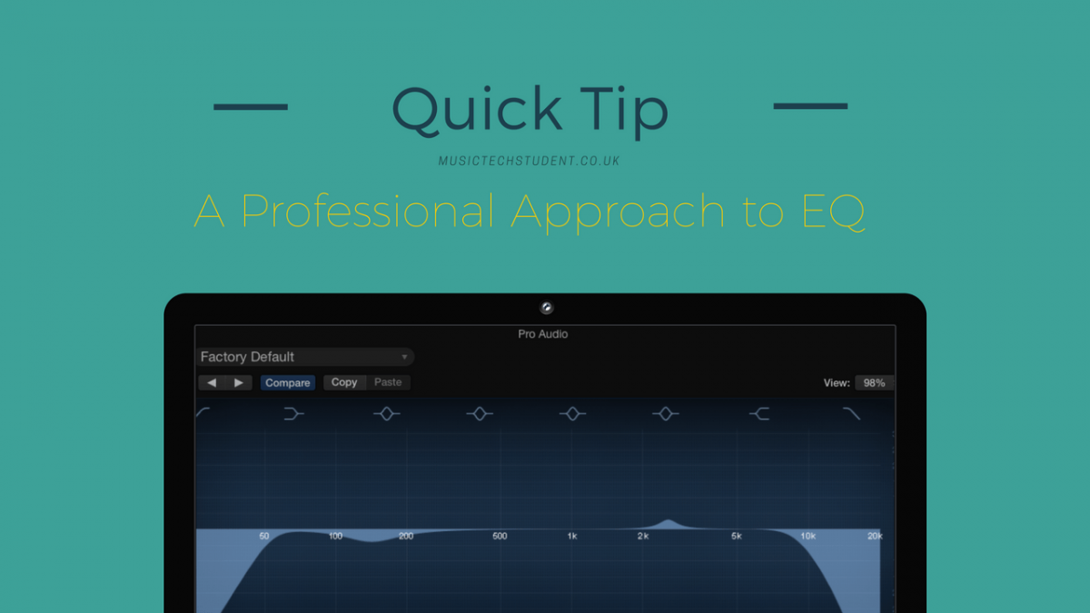 A professional approach to EQ