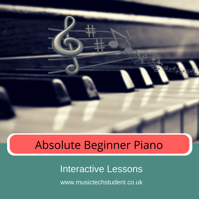 Absolute Beginner Piano Lessons
