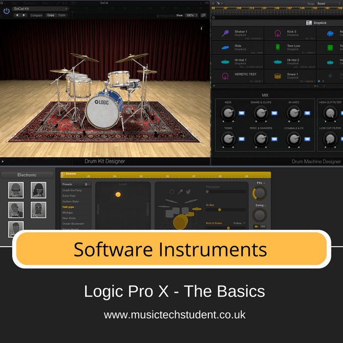Logic Pro X - Software Instruments Course