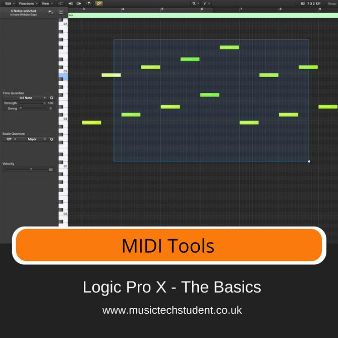 Logic Pro X - MIDI Tools Course