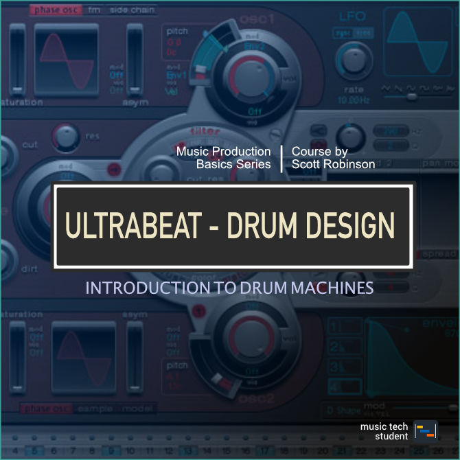 Drum Design with Ultrabeat