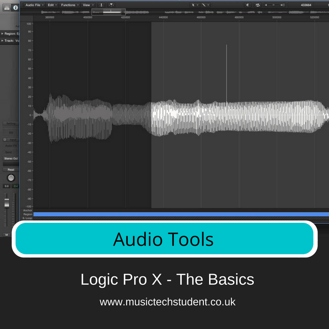 Logic Pro X - Audio Tools