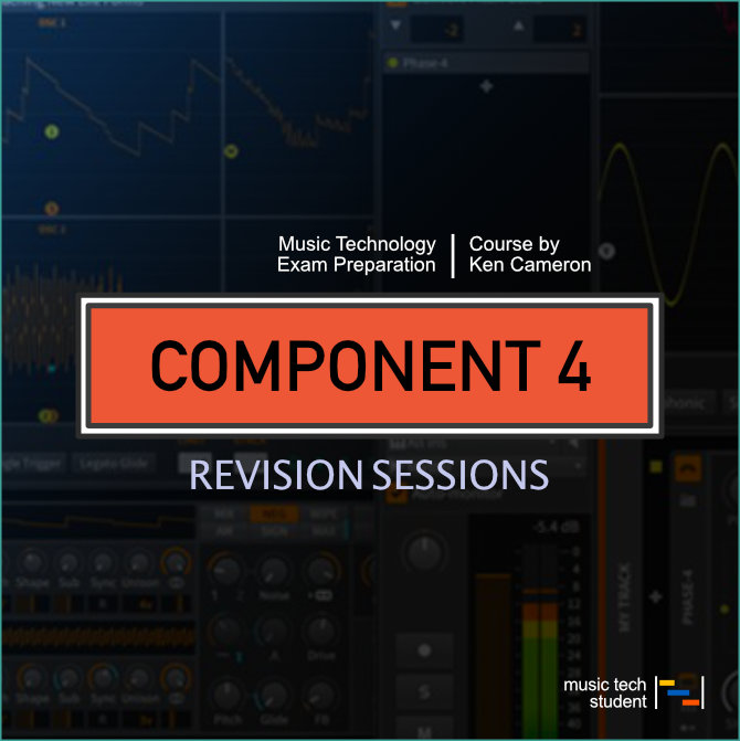 Component 4 Revision Sessions