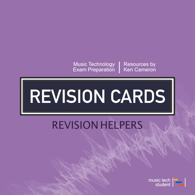 Music Technology Revision Cards