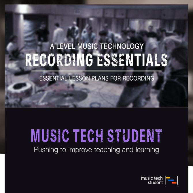 A Level Music Technology Lesson Plans