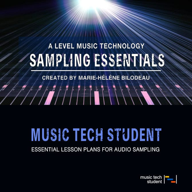 A Level Music Technology Lesson Plans - Sampling
