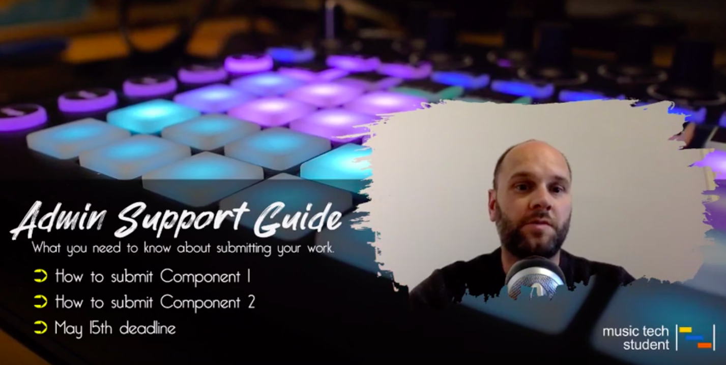A Level Music Technology Administrative Support Guide Overview